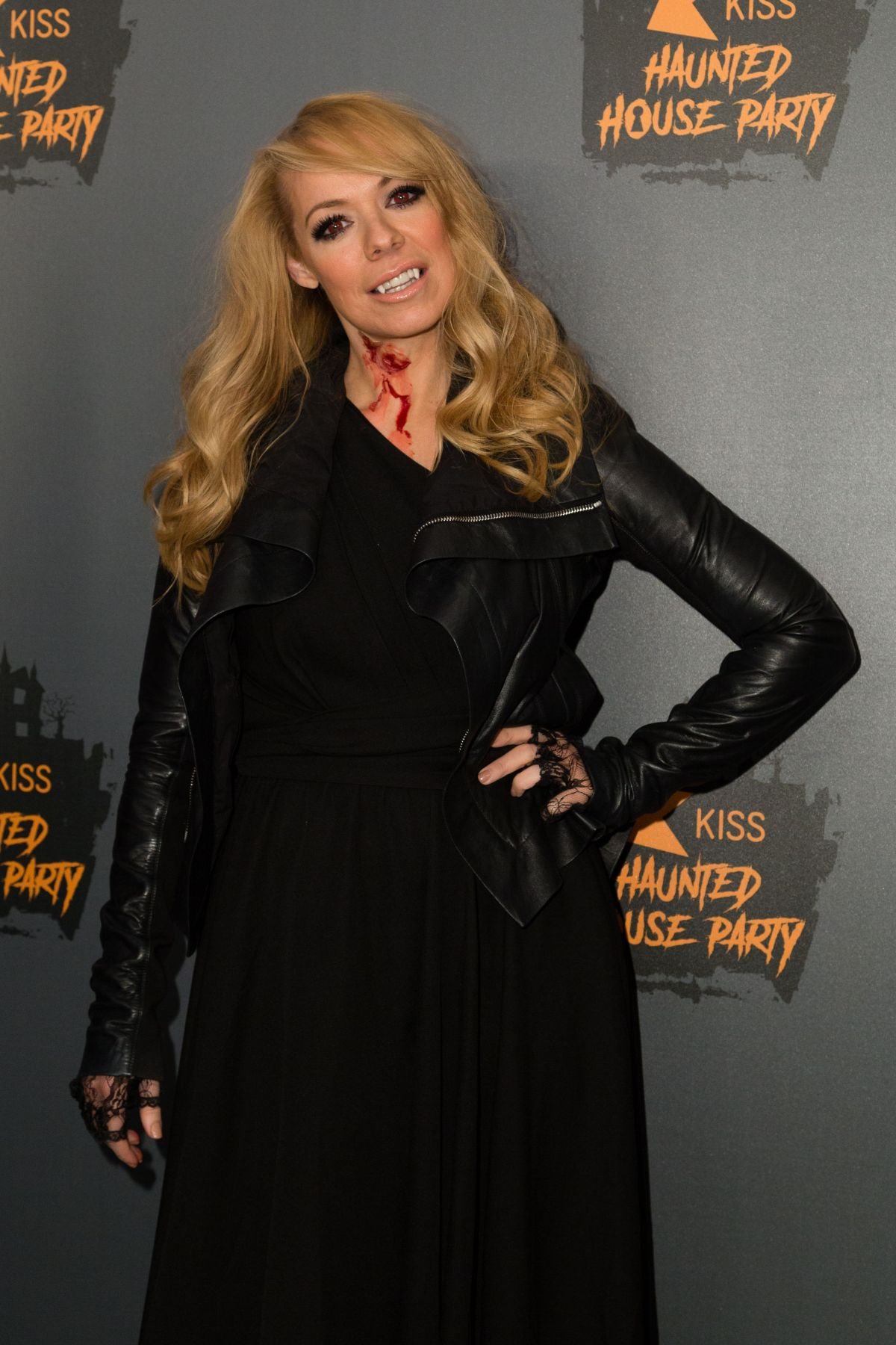 liz mcclarnon at kiss haunted house party in london 10 26 2018