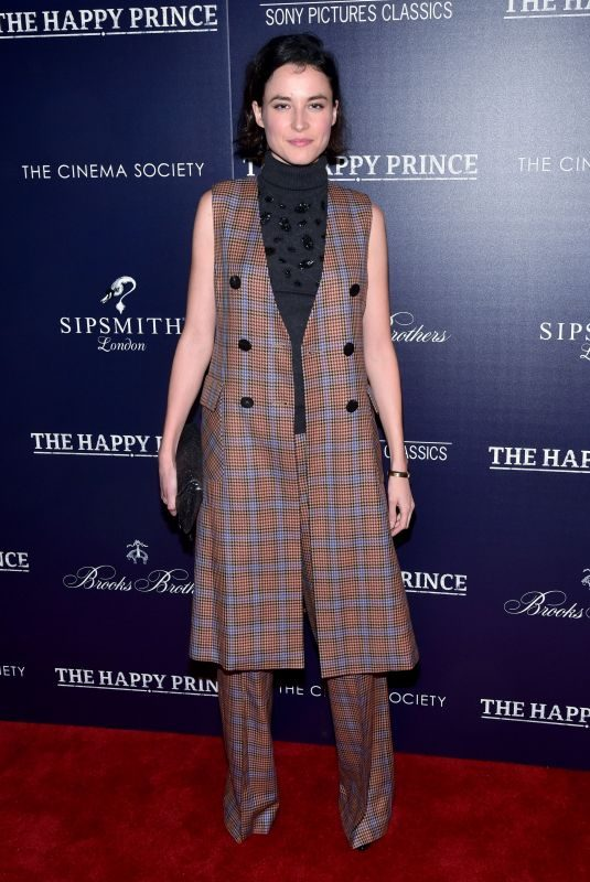 LOAN CHABANOL at The Happy Prince Screening in New York 10/08/2018