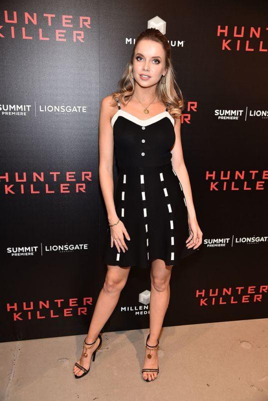 LOUISA WARWICK at Hunter Killer Premiere in New York 10/22/2018