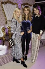 LUCY FALLON, SAMIA LONGCHAMBON and BROOKE VINCENT at Daydreams Luxury Salon and Spa Launch Party in Liverpool 10/18/2018