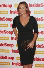 LUISA BRADSHAW-WHITE at Inside Soap Awards 2018 in London 10/22/2018