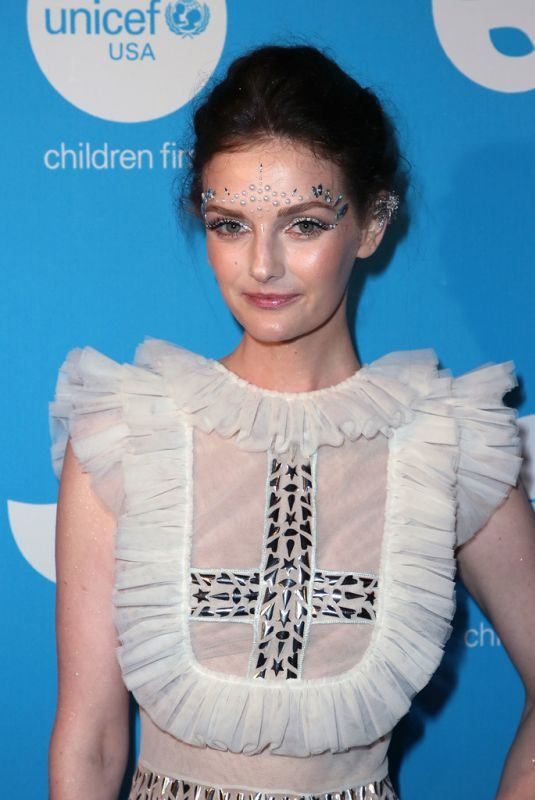 LYDIA HEARST at Unicef Masquerade Ball in Los Angeles 10/25/2018