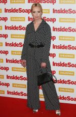 LYSETTE ANTHONY at Inside Soap Awards 2018 in London 10/22/2018