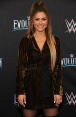 MARIA MENOUNOS at WWE's First Ever All-women's Event Evolution in Uniondale 10/28/2018