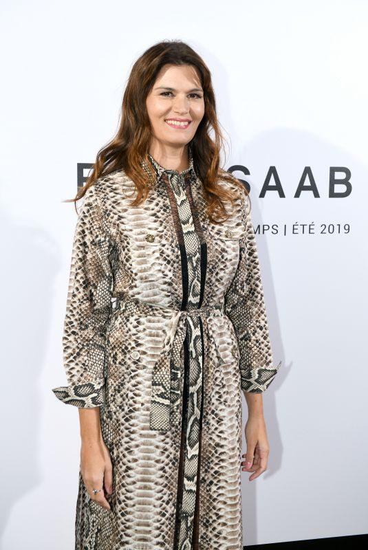 MARINA HANDS at Elie Saab Fashion Show in Paris 09/29/2018