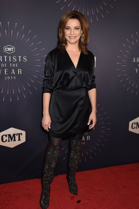 MARTINA MCBRIDE at CMT Artists of the Year 2018 in Nashville 10/17/2018