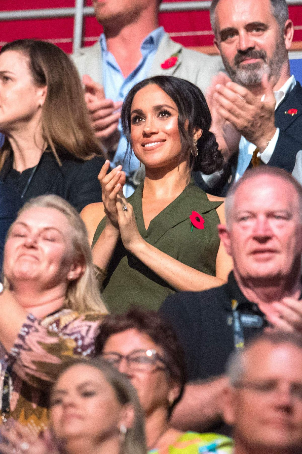 Meghan Markle At Invictus Games 2018 Closing Ceremony At Olympic