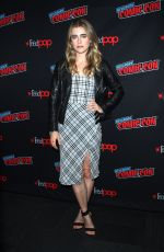MELISSA ROXBURGH at Entertainment Weekly Panel at New York Comic-con 10/06/2018