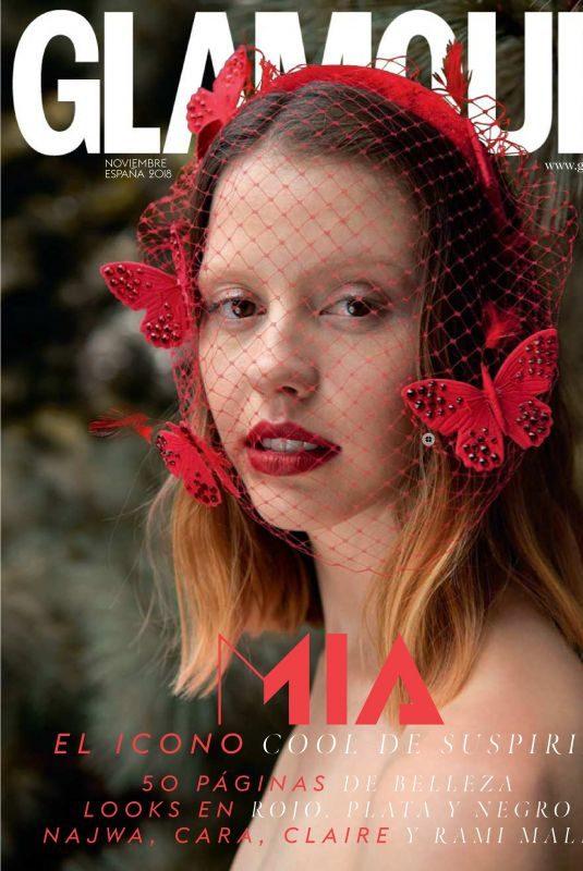 MIA GOTH in Glamour Magazine, Spain November 2018
