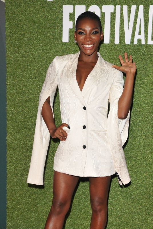 MICHAELA COEL at Been So Long Special Presentation at BFI London Film Festival 10/12/2018