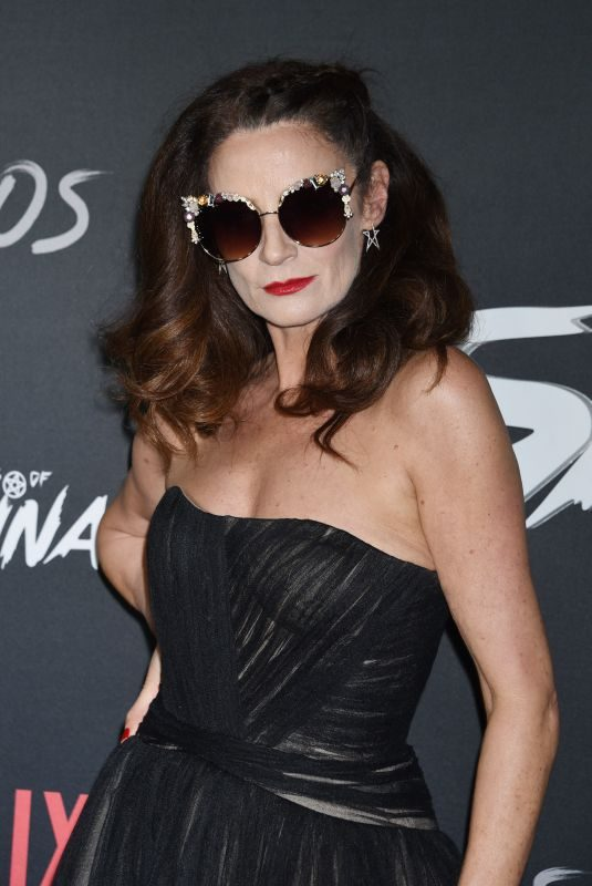 MICHELLE GOMEZ at Chilling Adventures of Sabrina Premiere in Hollywood 10/19/2018
