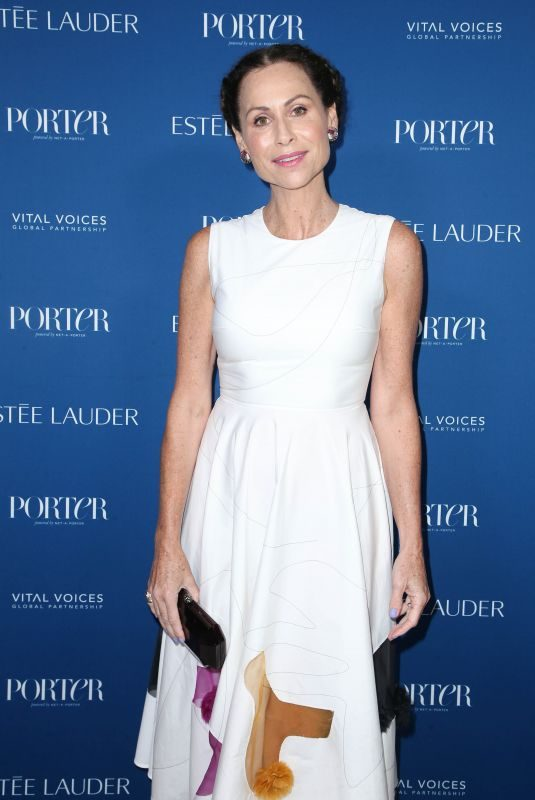 MINNIE DRIVER at Porter's Incredible Women Gala in Los Angeles 10/09/2018