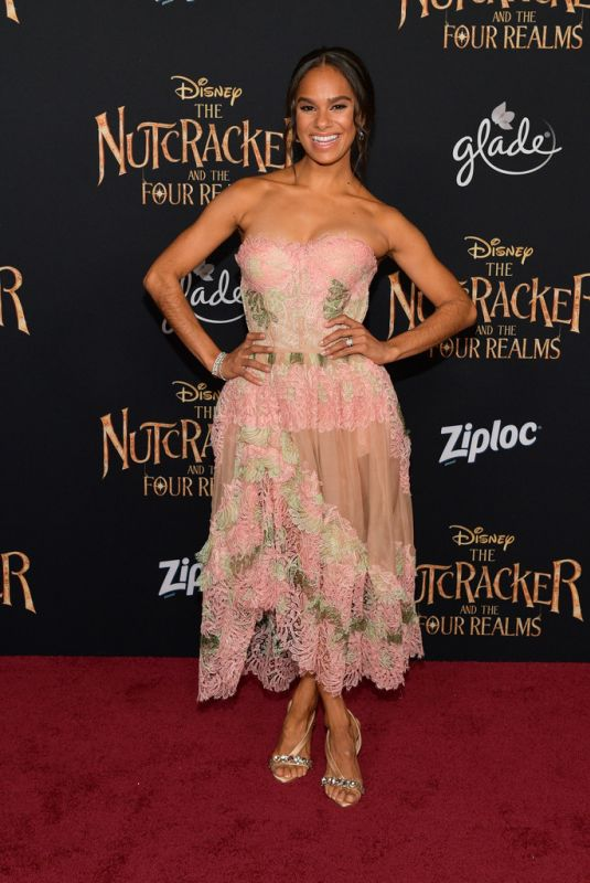 MISTY COPELAND at The Nutcracker and the Four Realms Premiere in Los Angeles 10/29/2018