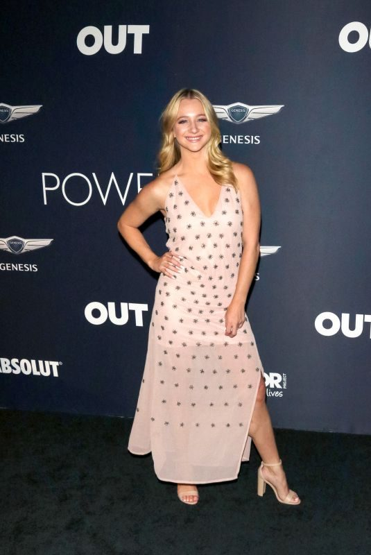 MOLLEE GRAY at Out Magazine's Power 50 Celebration in Los Angeles 09/27/2018