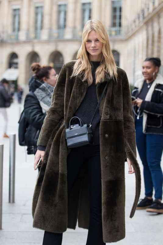 NADINE LEOPOLD at Ritz Hotel in Paris 10/02/2018