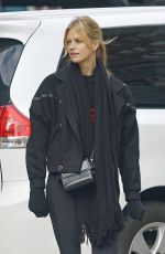 NADINE LEOPOLD Heading to a Gym in New York 10/23/2018