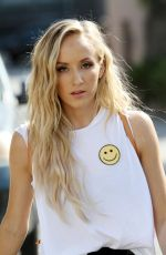 NASTIA LIUKIN Arrives at DWTS Rehersal in Los Angeles 10/12/2018