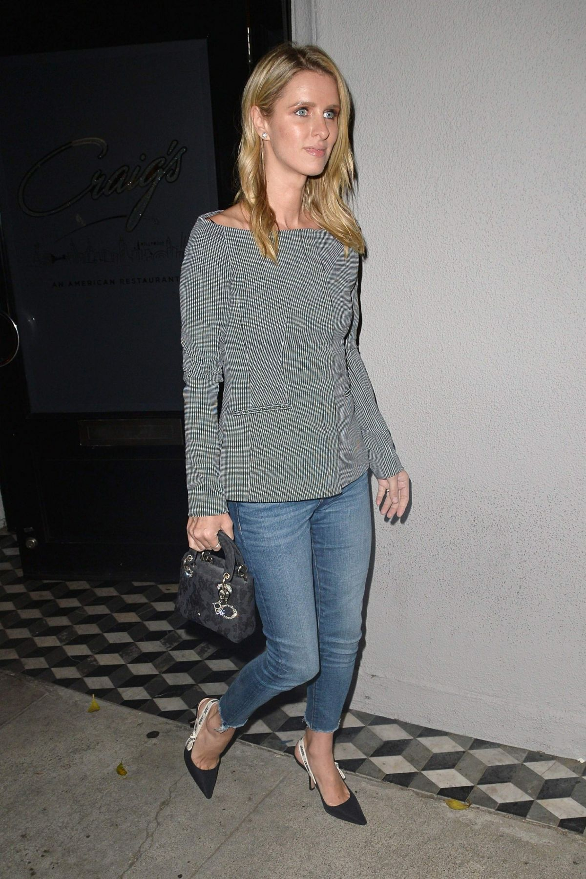 354ddecb NICKY HILTON at Craig's Restaurant in West Hollywood 10/25/2018 ...