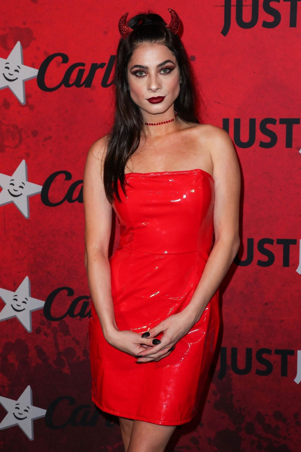 NIKI KOSS at Just Jared Halloween Party in West Hollywood 10