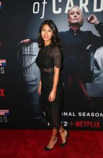 NINI LE HUYHN at House of Cards Season 6 Premiere in Los Angeles 10/22/2018