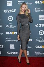 OLIVIA JORDAN at Glsen Respect Awards 2018 in Beverly Hills 01/19/2018
