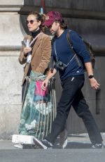 OLIVIA WILDE and Jason Sudeikis Out in Paris 09/29/2018