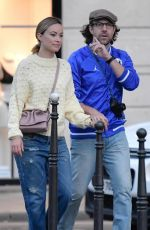 OLIVIA WILDE and Jason Sudeikis Out in Paris 09/30/2018
