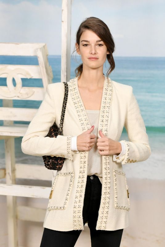 OPHELIE GUILLERMAND at Chanel Show at Paris Fashion Week 10/02/2018