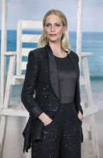 POPPY DELEVINGNE at Chanel Show at Paris Fashion Week 10/02/2018