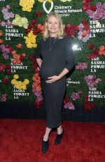 Pregnant EMILIE DE RAVIN at Rock the Runway Presented by Children's Miracle Network Hospitals 10/13/2018