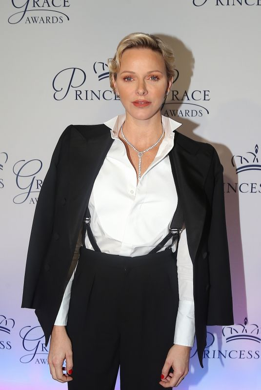 PRINCESS CHARLENE OF MONACO at Princess Grace Awards Gala in New York 10/16/2018
