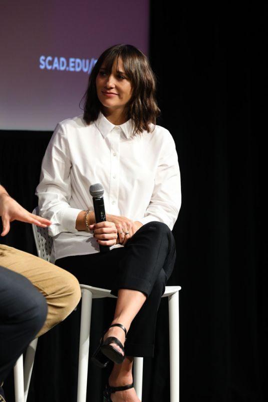 RASHIDA JONES at Quincy Press Conference at Scad Savannah Film Festival 10/28/2018