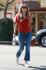 REBECCA GAYHEART Out and About in Studio City 10/08/2018
