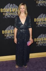 REBECCA NIGHT at Bohemian Rhapsody Premiere in New York 10/30/2018