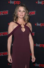 REBECCA ROMIJN at Star Trek: Discovery Panel at New York Comic-con 10/06/2018