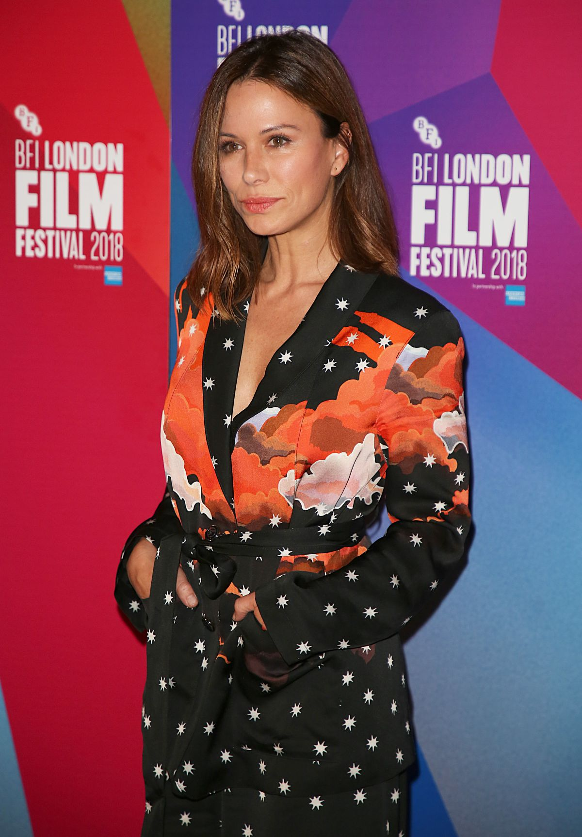 RHONA MITRA at The Fight Premiere at BFI London Film
