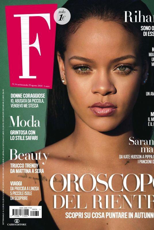 RIHANNA in F Magazine, N34 August 2018
