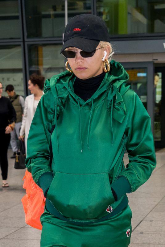 RITA ORA at Heathrow Airport in London 10/17/2018