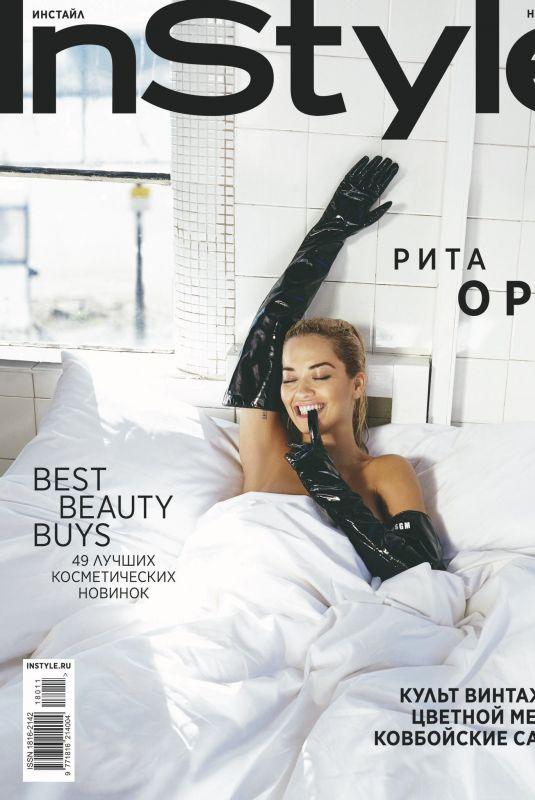 RITA ORA in Instyle Magazine, Russia November 2018