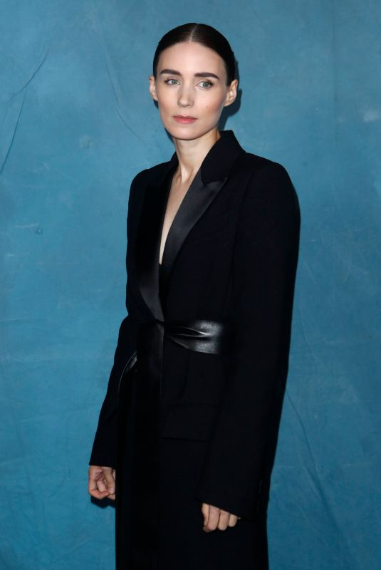 ROONEY MARA at Givenchy Fashion Show at PFW in Paris 09/30/2018