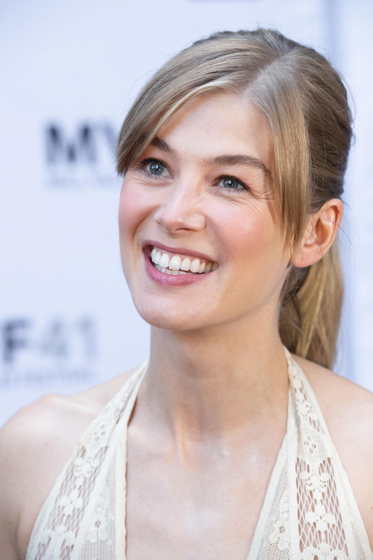 ROSAMUND PIKE at Mill ...