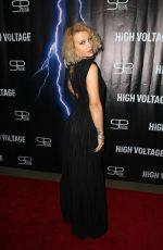 SABINA LISIEVICI at High Voltage Premiere in Los Angeles 10/16/2018