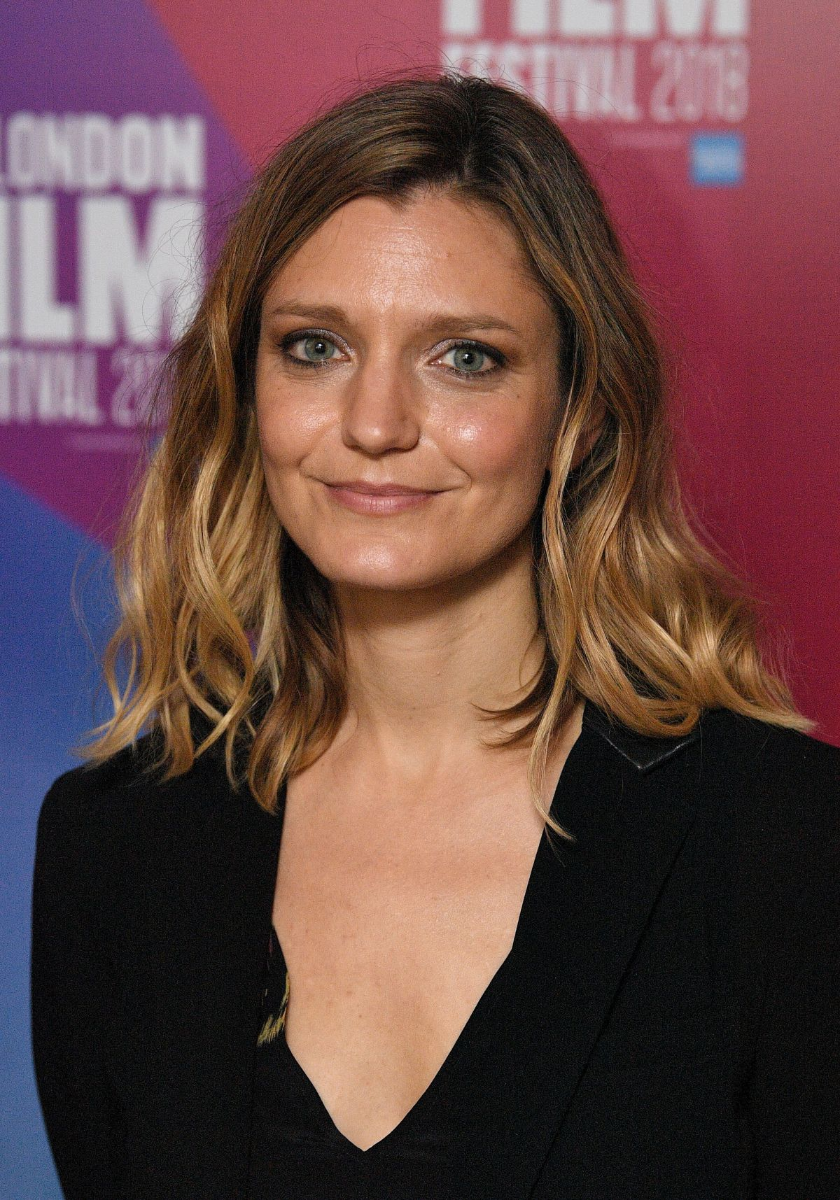 SARA COLANGELO at The Kindergarden Teacher Premiere at BFI London Film  Festival 10/18/2018 – HawtCelebs