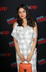 SARAH JEFFERY at Charmed Screening and Panel at New York Comic-con 10/03/2018