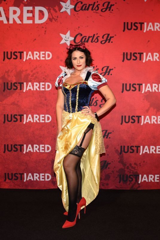 SCOUT TAYLOR-COMPTON at Just Jared Halloween Party in West Hollywood 01/27/2018