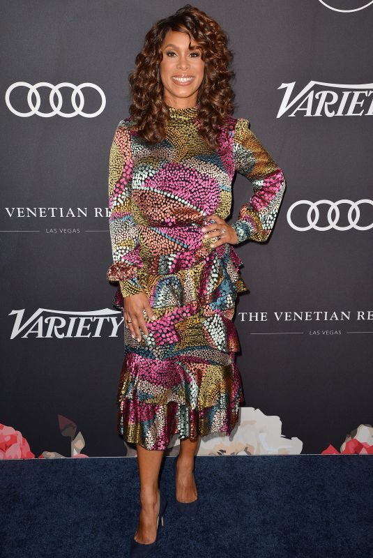 SHANNING DUNGEY at Variety's Power of Women 2018 in New York 10/12/2018
