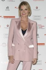 SIMONA VENTURA at a Charity Dinner in Rome 10/27/2018