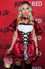 SKYLER SHAYE at Just Jared Halloween Party in West Hollywood 10/27/2018