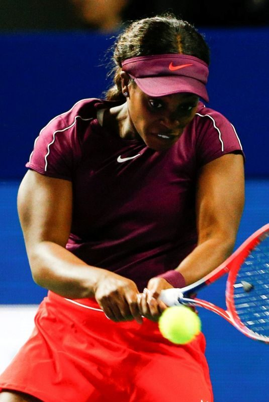 SLOANE STEPHENS at 2018 VTB Kremlin Cup International in Moscow 10/17/2018