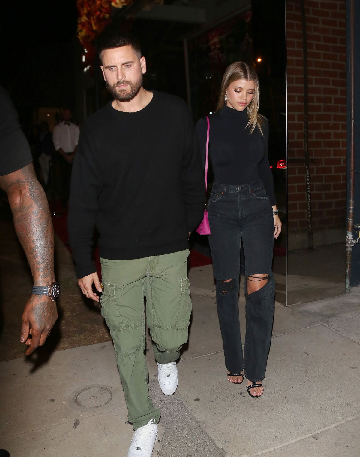 cc0ce3fe161318 SOFIA RICHIE and Scott Disick at Maddox Gallery in West Hollywood 10/11/2018